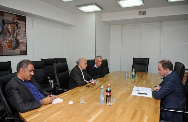 ملاقات سفیر ایران در گرجستان با شهردار تفلیس
