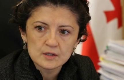 تئا تسولوکیانی، وزیر دادگستری گرجستان