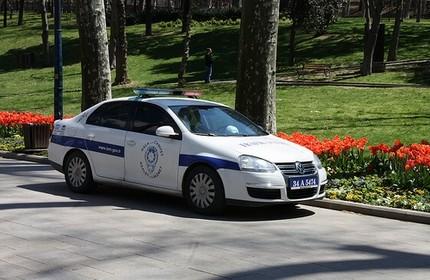 خودروی پلیس ترکیه
