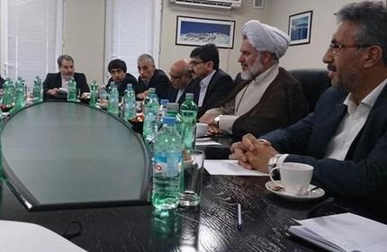 دیدار هیات پارلمانی ایران با وزیر اقتصاد و توسعه پایدار گرجستان