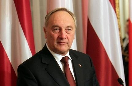 آندریس برزینس، رئیس جمهور لتونی