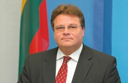 لیناس لینکویسیوس، وزیر امور خارجه لیتوانی