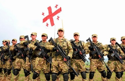 بازگشت نظامیان گرجستان به افغانستان