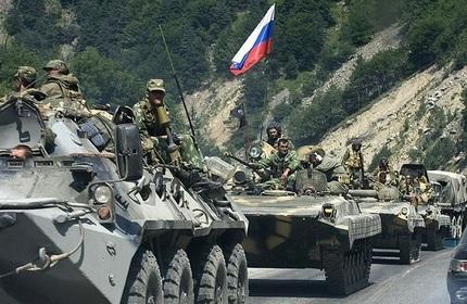 اعتراض گرجستان به مانور نظامی روسیه در اوستیای جنوبی