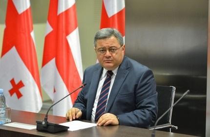 داویت اوسوپاشویلی، رئیس پارلمان گرجستان