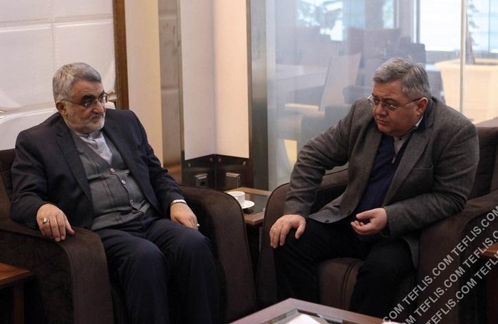 بازگشت رئیس پارلمان گرجستان از ایران