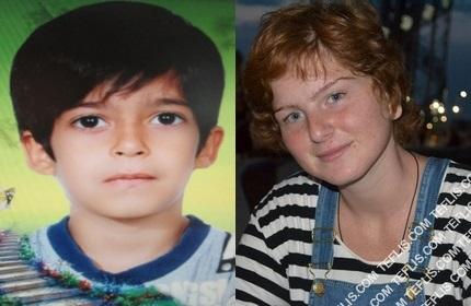 ماریام کوچالیدزه (راست) و مهدی بارانی (چپ)، قربانیان جنایت