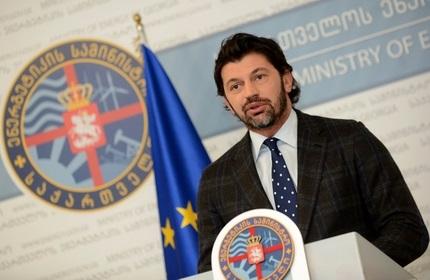 کاخا کالادزه، وزیر انرژی و جانشین نخست وزیر گرجستان