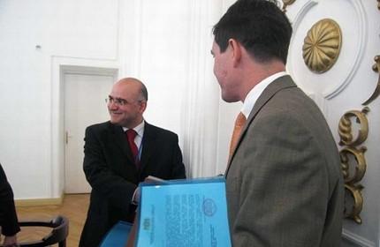 الکساندر مایسورادزه، سفیر جدید گرجستان در ناتو