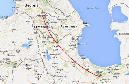 احتمال از سرگیری پروازهای مستقیم میان گرجستان و ایران