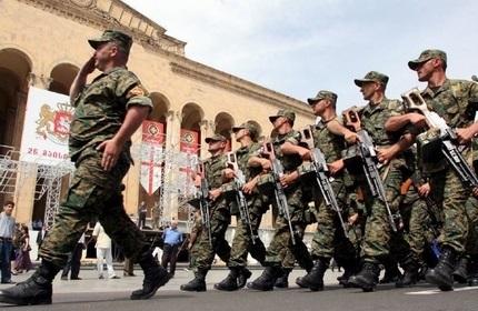 حذف رژه نظامی از برنامه مراسم روز استقلال گرجستان