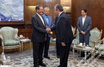 دیدارهای دیپلماتیک مقامات گرجستان در ایران