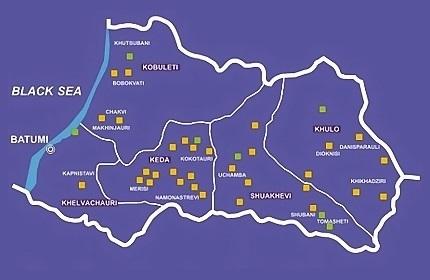 افزایش سرمایه گذاری در استان خودمختار آجارا