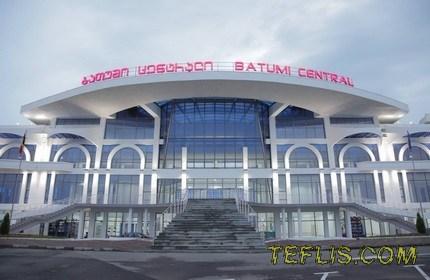 افتتاح ایستگاه جدید راه آهن باتومی