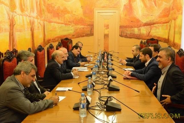 سفر هیات پارلمانی ایران به گرجستان
