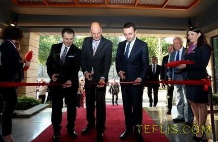 افتتاح هتل 4 ستاره مِرکور در تفلیس
