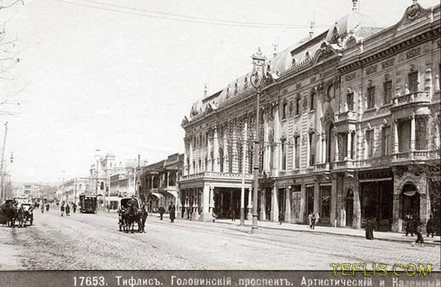 تئاتر روستاولی، 1901 میلادی