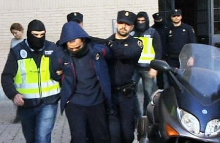 بازداشت 32 عضو مافیای گرجستان در اسپانیا