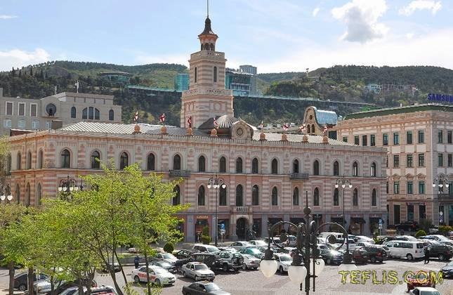 ساختمان شورای شهر تفلیس