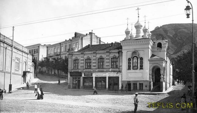 کلیسایی در خیابان گولوین (روستاولی)، 1900 میلادی