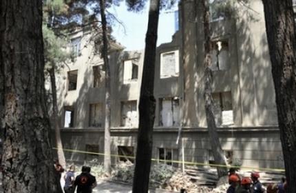 مرگ چهار نفر در تفلیس بر اثر فرو ریختن ساختمان