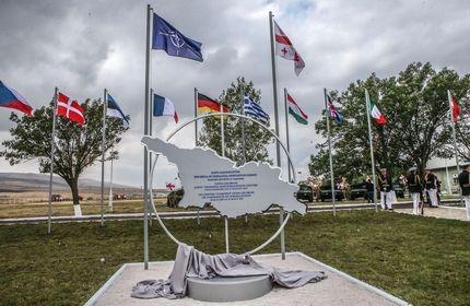 افتتاح مرکز آموزش نظامی مشترک ناتو و گرجستان