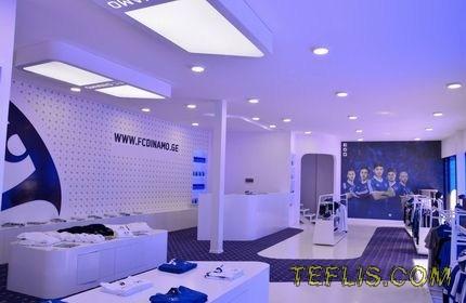 افتتاح فروشگاه باشگاه فوتبال دینامو تفلیس