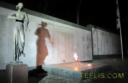 یادبود قهرمانان، تفلیس