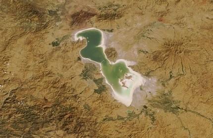 دریاچه ارومیه، آذربایجان غربی، ایران