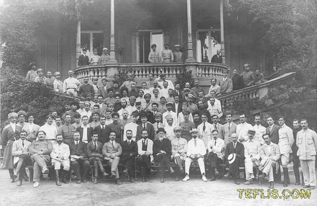نمایندگان شورای رهبری گارد ملی گرجستان، 1920 میلادی
