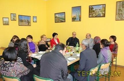 افتتاح اتاق ایران در مدرسه عمومی شماره 51 تفلیس