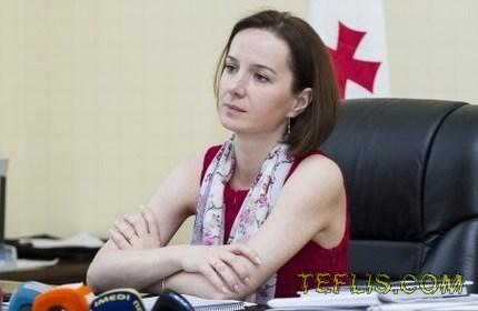 تامار سانیکیدزه، وزیر علوم و آموزش گرجستان