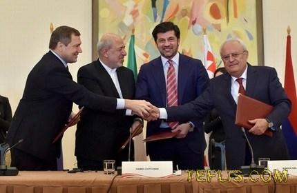توافق گرجستان، ایران، ارمنستان و روسیه برای اتصال شبکه های ملی برق