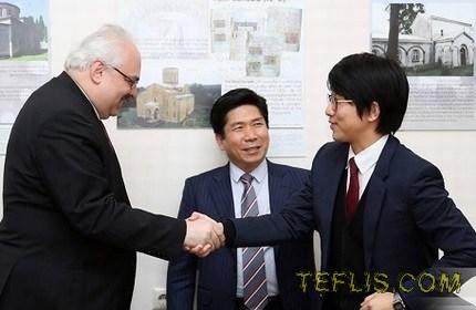 کمک یکصد هزار دلاری کره جنوبی به گرجستان
