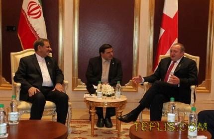 حمایت گرجستان از نقش فعال ایران در ایجاد صلح در منطقه