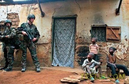 سربازان گرجستان، رسما به آزار جنسی کودکان در جمهوری آفریقای مرکزی متهم شدند