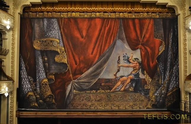 بازگشایی خانه اپرای تفلیس