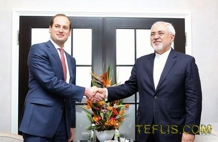 دیدار وزرای امور خارجه گرجستان و ایران در حاشیه کنفرانس امنیتی مونیخ