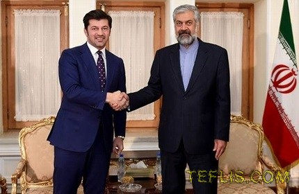 سفر وزیر انرژی گرجستان به ایران