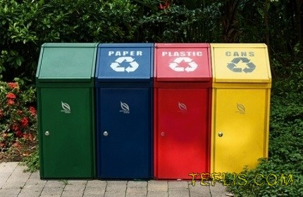اجرای طرح تفکیک زباله از مبدا و بازیافت در گرجستان