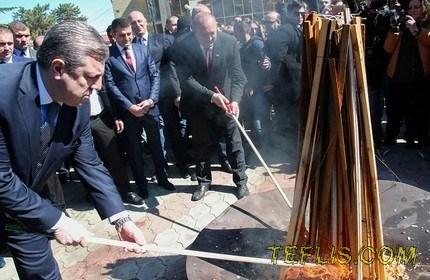 تبریک رییس جمهور و نخست وزیر گرجستان به مناسبت نوروز