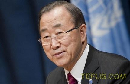 تماس تلفنی دبیر کل سازمان ملل متحد با نخست وزیر گرجستان