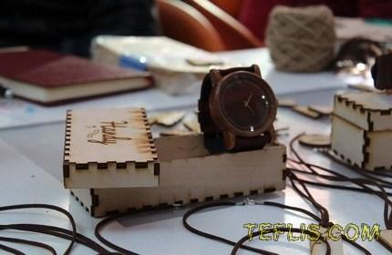 ساعت های چوبی، سوغات جدید گرجستان