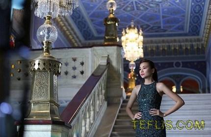 ساخت فیلم تبلیغاتی سامسونگ در خانه اپرای تفلیس