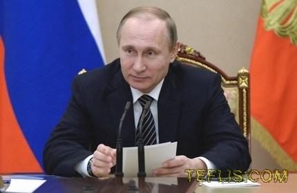 پوتین: در حال حاضر بحث الحاق اوستیای جنوبی به روسیه، مطرح نیست