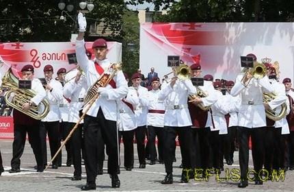 برگزاری مراسم روز استقلال گرجستان