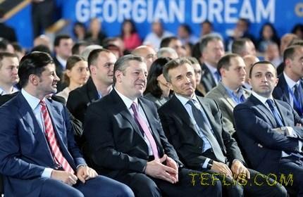 انتخاب نخست وزیر گرجستان به ریاست حزب حاکم در کشور