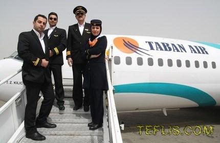 پروازهای هواپیمایی تابان به شهرهای تفلیس و باتومی در گرجستان