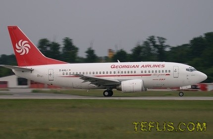 شروع پروازهای هواپیمایی ملی گرجستان به مقصد ایران
