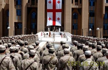 توقف سربازی اجباری در گرجستان